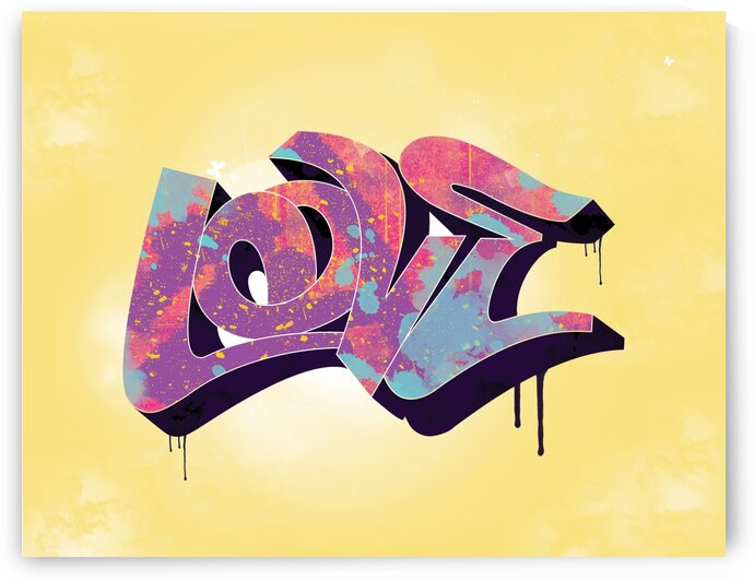 Love Graffiti - MUL by Work by Carl