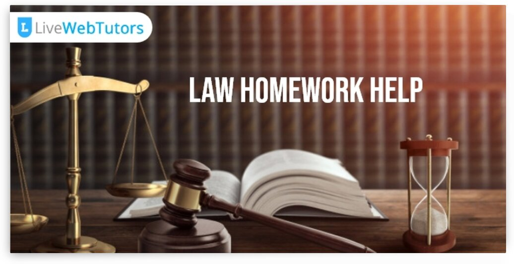 Law Homework Help 1 by Amara Smith