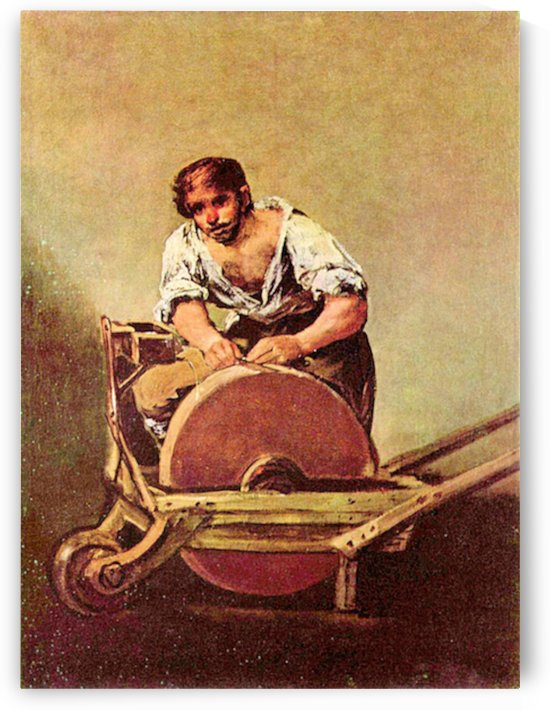 The grinder by Goya by Goya