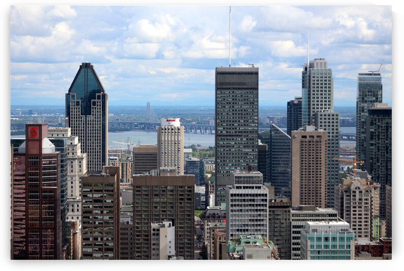 MTL Skyline by Artistic Images and Photography