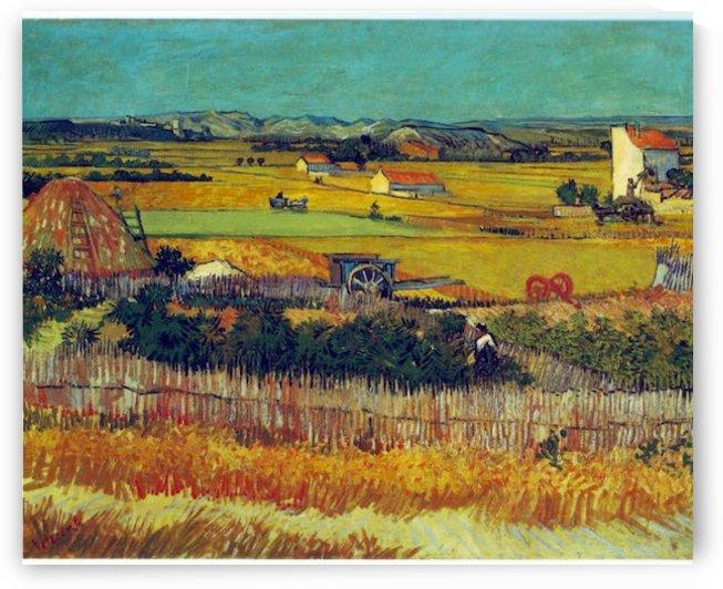 The Harvest, Arles by VanGogh by Van Gogh