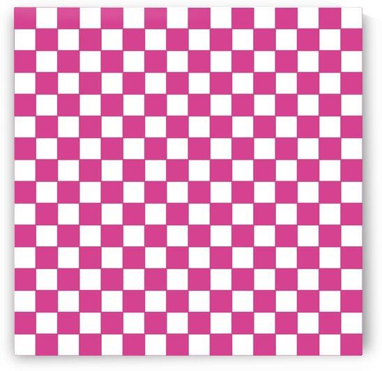 Pink Check Pattern by rizu_designs