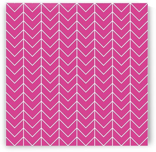 Pink Chevron Pattern by rizu_designs