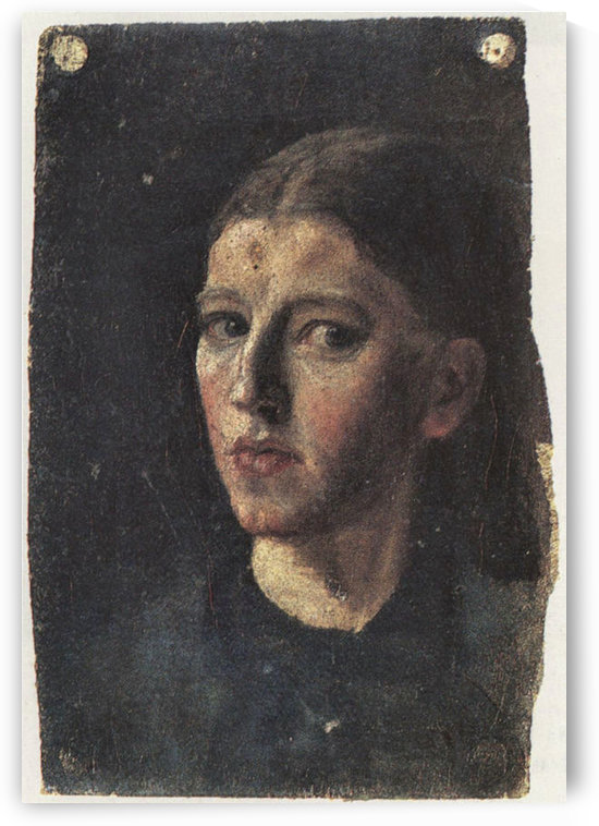 Self Portrait by Anna Ancher by Anna Ancher