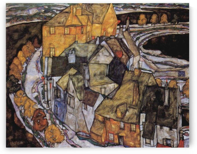 The House-Bend, or Island City  by Schiele by Schiele