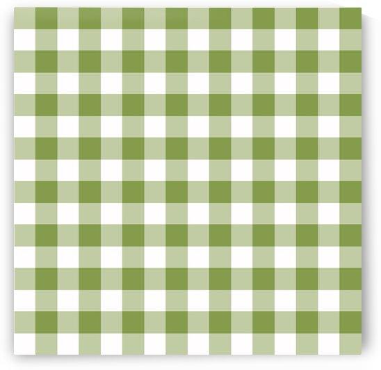 Light Green Plaid Pattern by rizu_designs