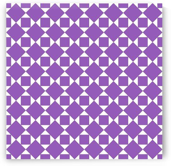 Purple Geometric Pattern by rizu_designs