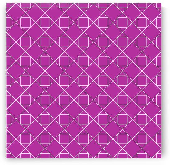 Magenta Geometric Pattern by rizu_designs