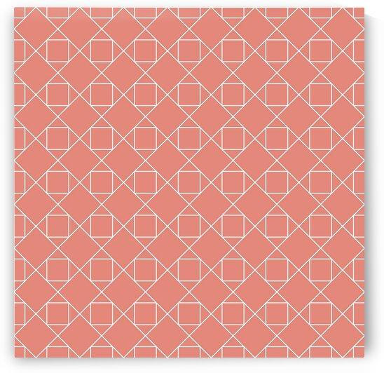 Pink Geometric Pattern by rizu_designs