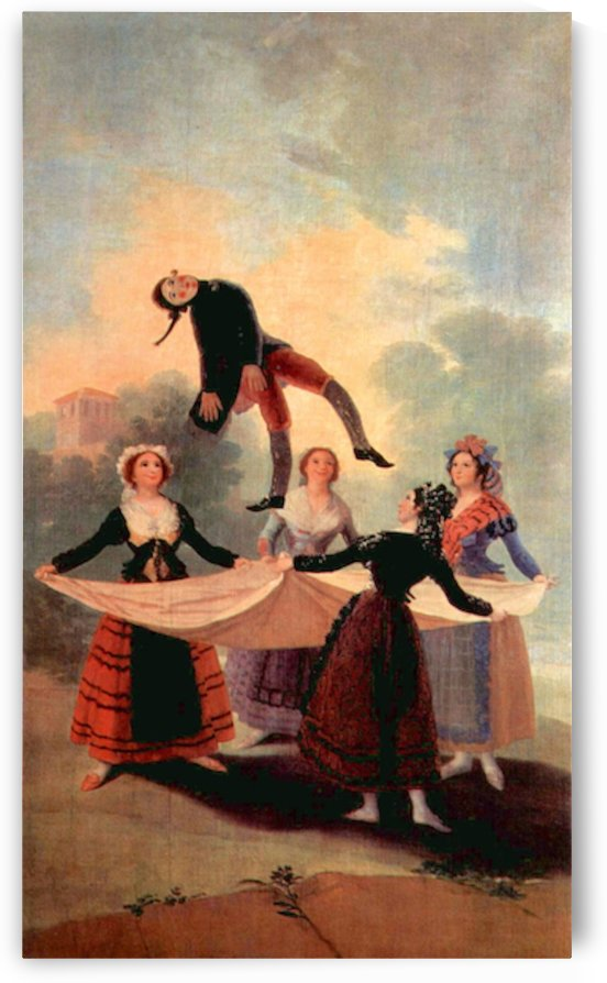 The Jumping Jack by Goya by Goya