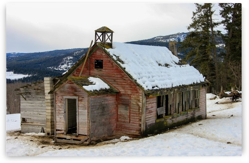 Original Chu Chua School by Forgotten British Columbia