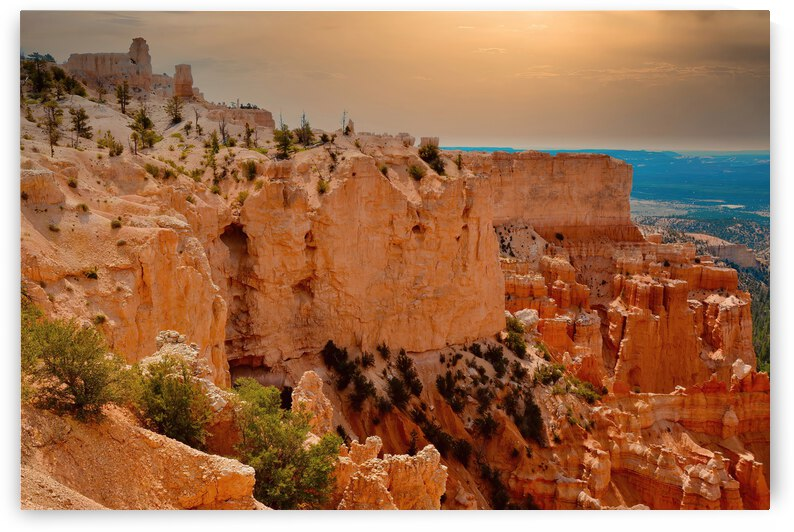 Cathedral Rock ... Bryce Canyon National Park  Utah by Fred J Bivetto