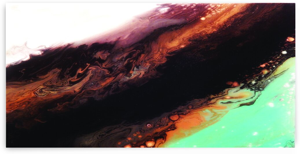 Geode II by Christine The Artist