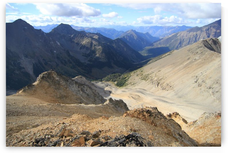 Molybdenite Peak by Forgotten British Columbia