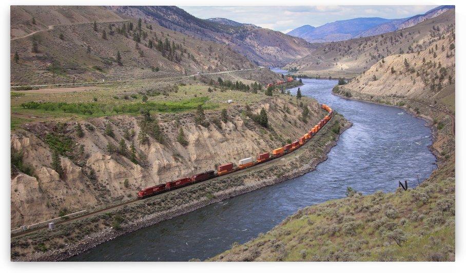 CP Rail near Spences Bridge, BC by Forgotten British Columbia