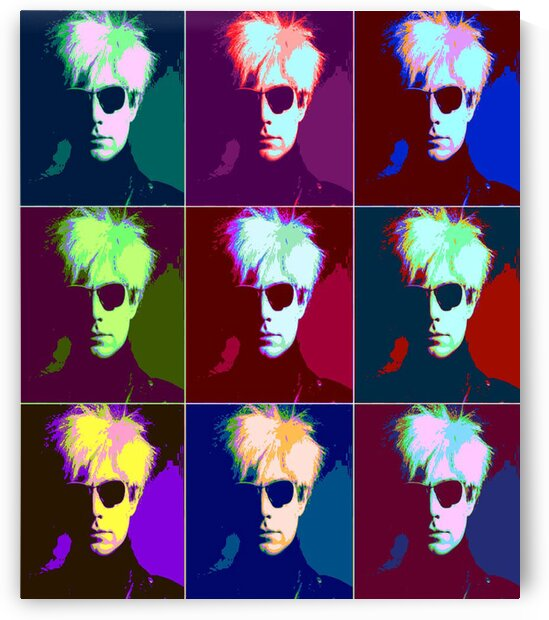 Andy Warhol Pop Art by Matthew Lacey