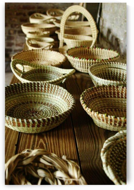 Sweet Grass Baskets by Adam Mobley