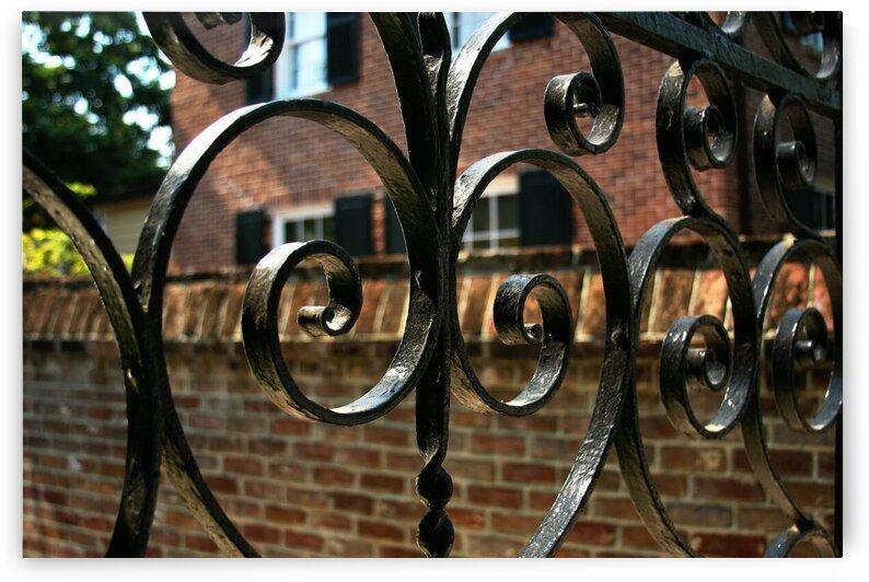 Iron Gate in Charleston by Adam Mobley