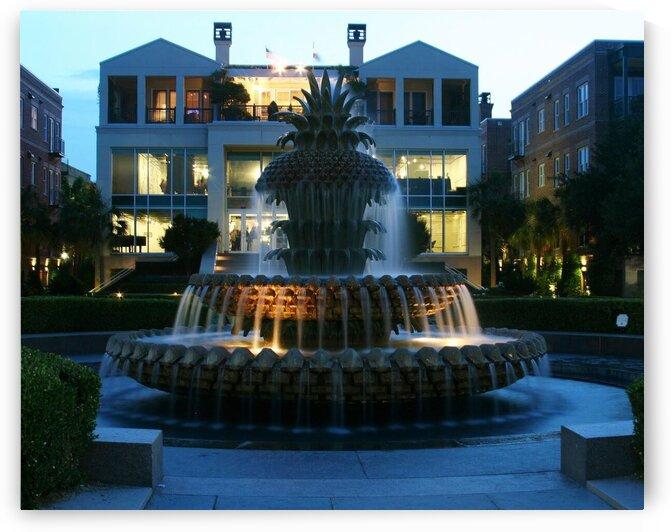 Charleston Fountain by Adam Mobley