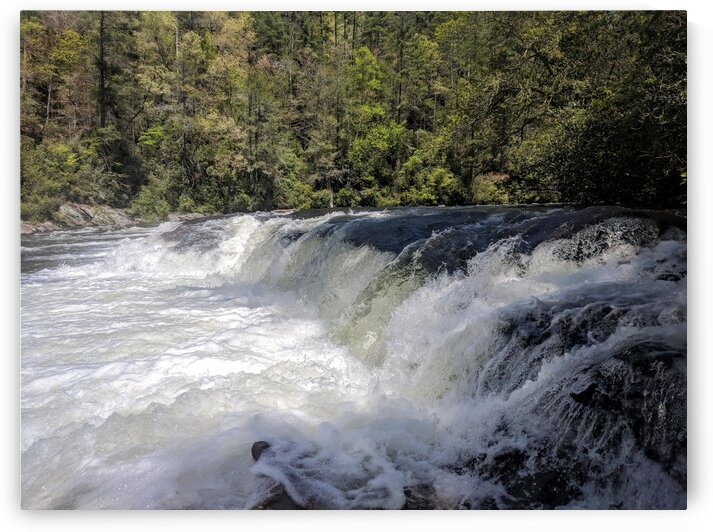 Second Ledge on the Chattooga by Adam Mobley