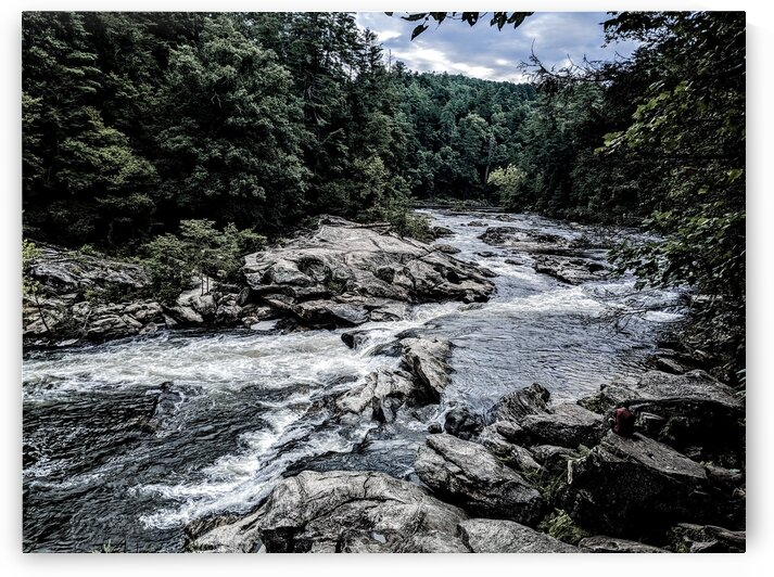 Bull Sluice on the Chattooga by Adam Mobley