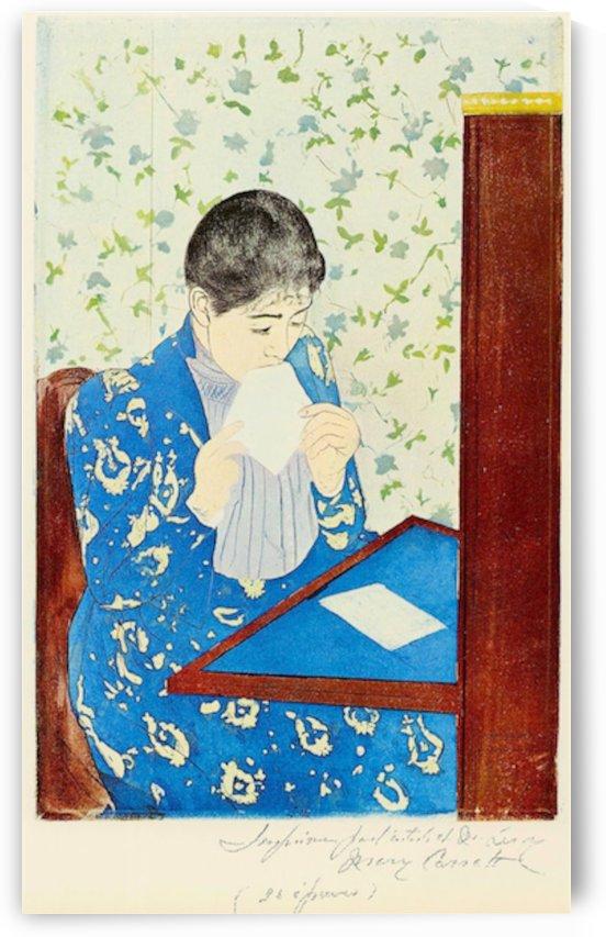 The letter 1 by Cassatt by Cassatt