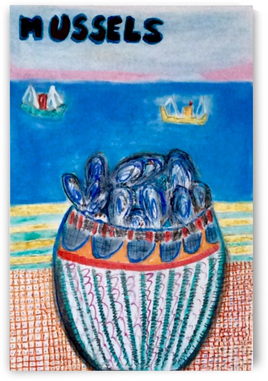 Mussels ... by Zaramar Paintings