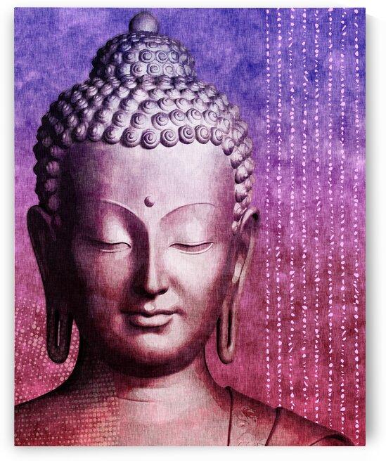 Buddha - Purple Skies by Studio Grafiikka