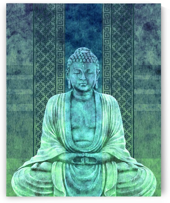 Dhyana - Buddha in Meditation 02 by Studio Grafiikka