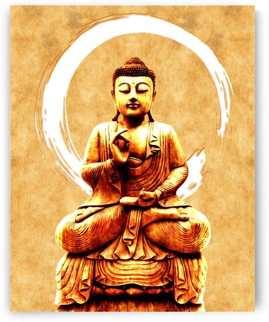Abhaya Mudra 03 - Buddha in Meditation by Studio Grafiikka