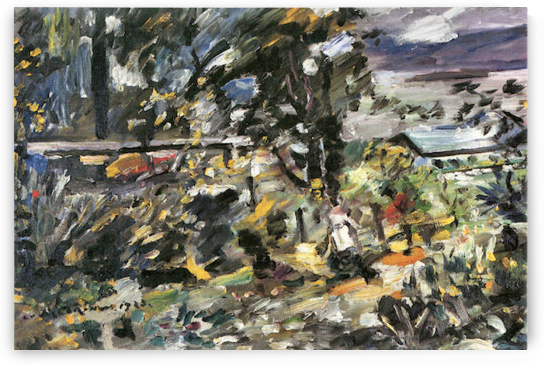 Silver way by Lovis Corinth by Lovis Corinth