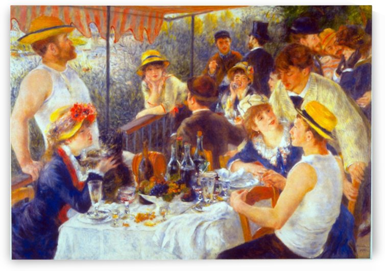 The Luncheon by Renoir by Renoir