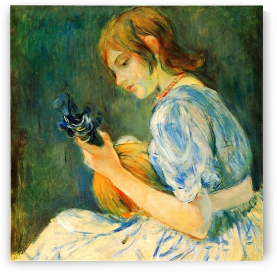 The Mandolin by Morisot by Morisot