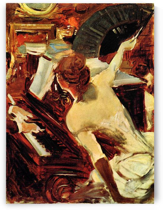 Singer Mondana by Giovanni Boldini by Giovanni Boldini