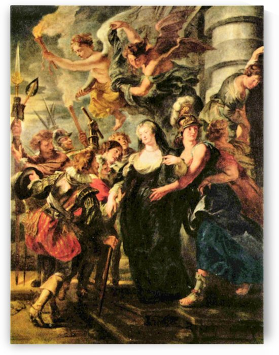 The Medici s queen escapes from Blois by Rubens by Rubens