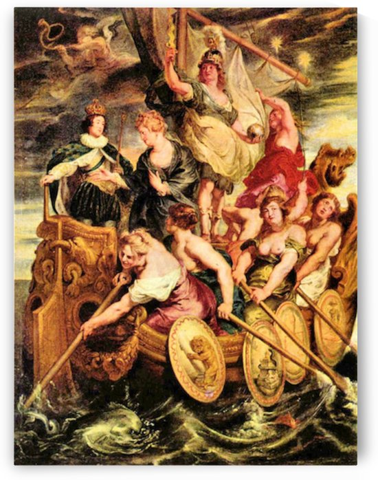 The Medici s -2- by Rubens by Rubens