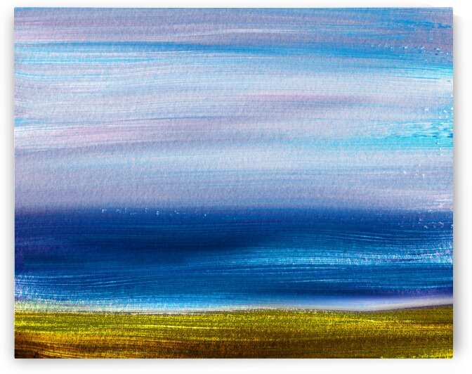 Beach Art Ocean Seascape Sea View Painting For Home Interior Decor III by Irina Sztukowski