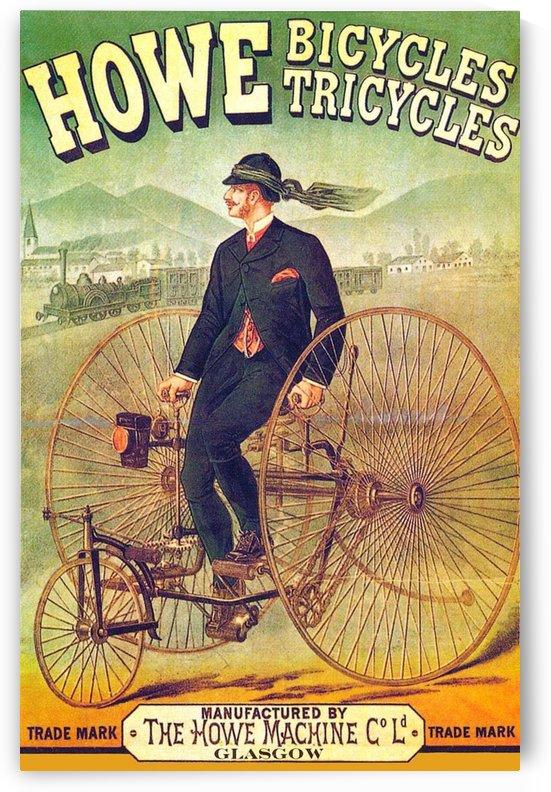 Howe Bicycles by VINTAGE POSTER
