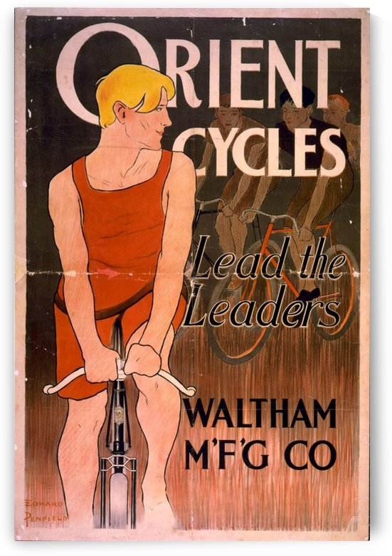 Lead the leaders by VINTAGE POSTER
