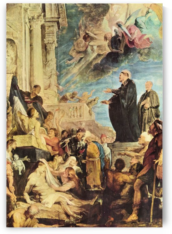 The Miracle of St. Francis Xavier by Rubens by Rubens