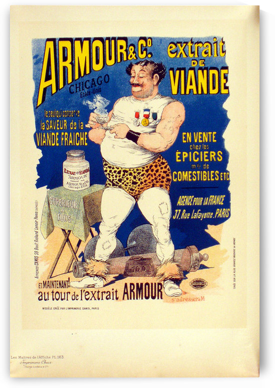 Armour by VINTAGE POSTER