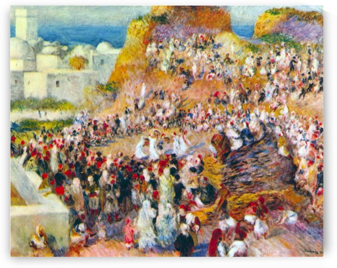 The mosque (Arabian Fest) by Renoir by Renoir