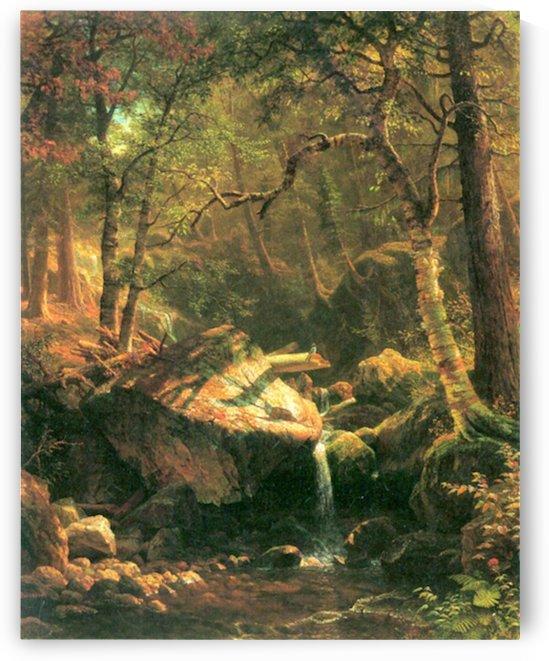 The Mountain by Bierstadt by Bierstadt