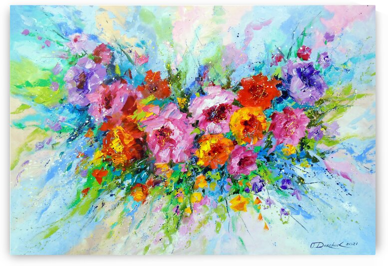 Fragrance of mood by Olha Darchuk