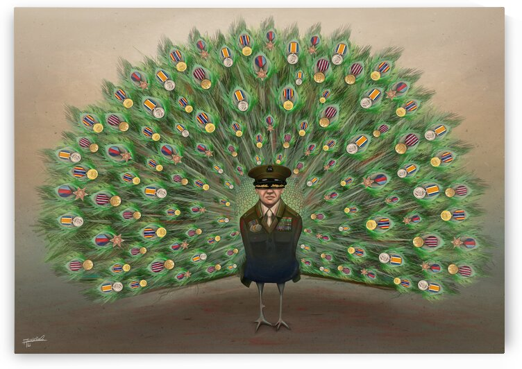 Peacock by Alirastroo