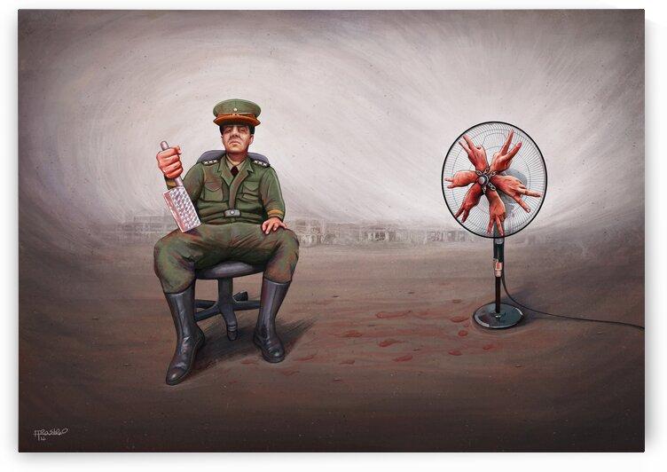 Bloody fan by Alirastroo