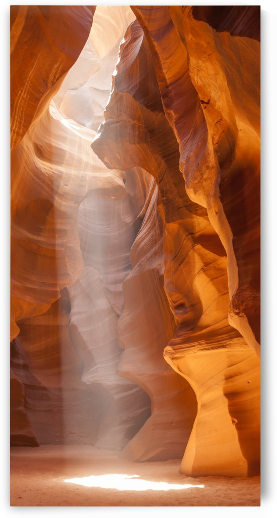 Beautiful Antelope Canyon Panoramic View by Melanie Viola