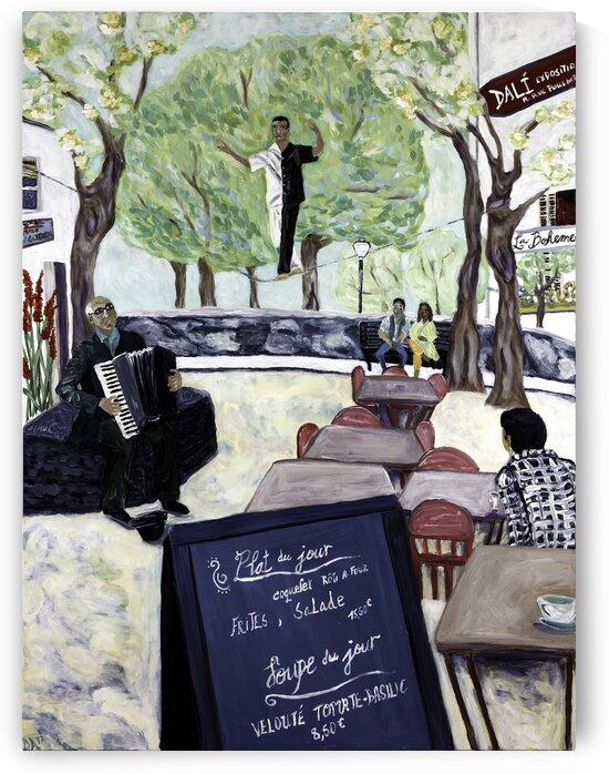Montmartre by Deborah Alastra