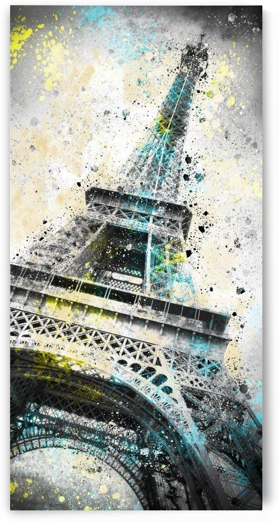 City-Art PARIS Eiffel Tower IV by Melanie Viola