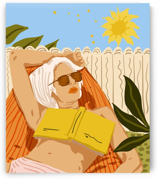 I love to travel but when I really want to escape I read a book by 83 Oranges